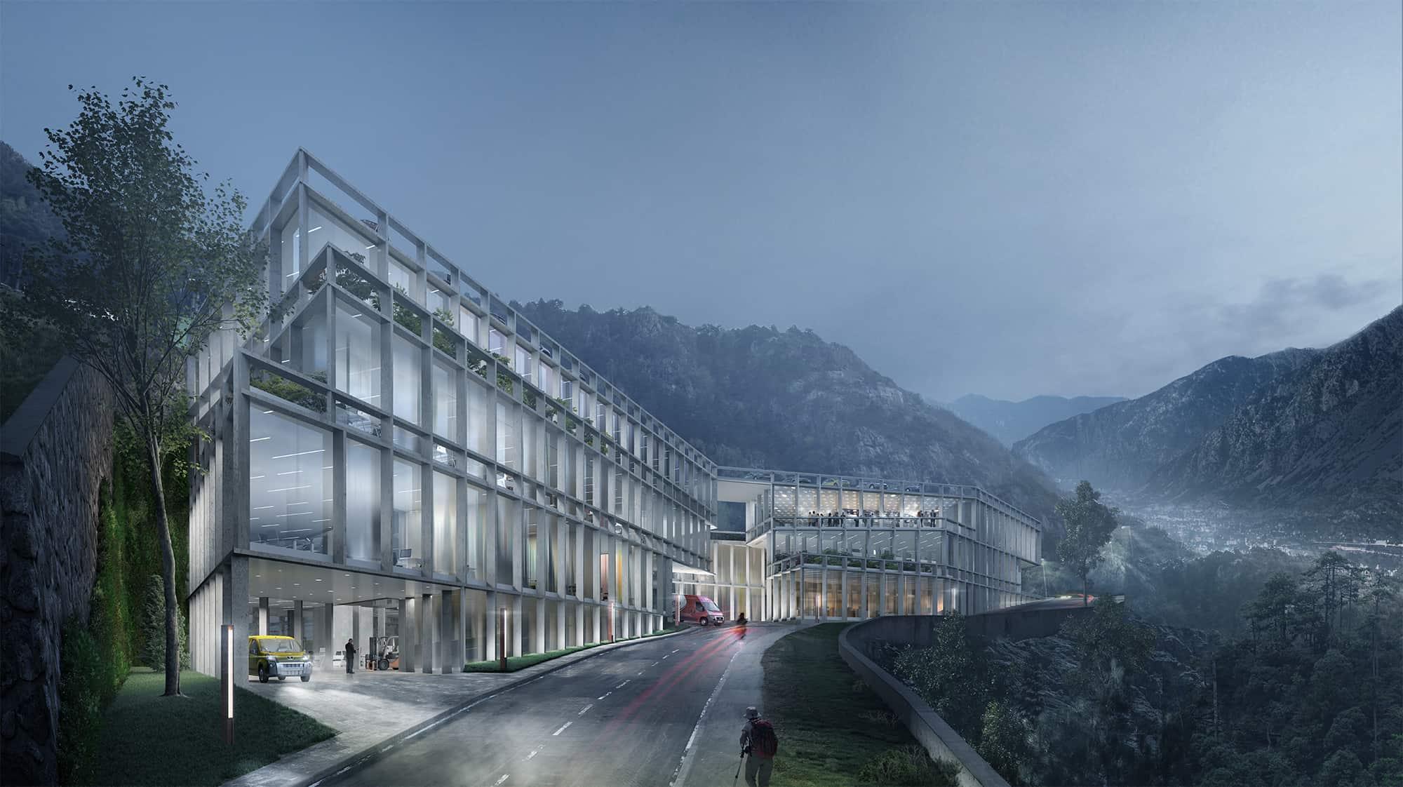 Andorra • Pyrenees • Logistics
