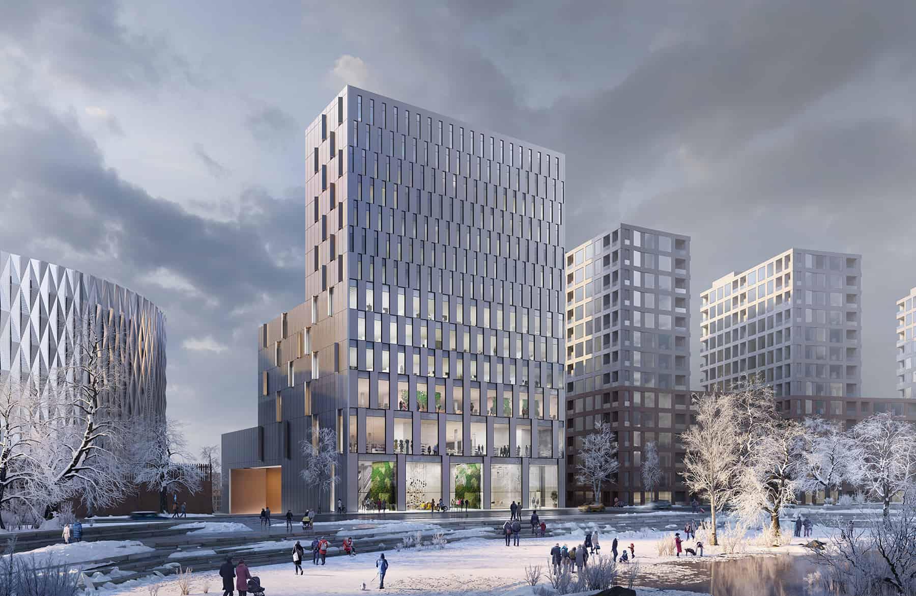 Finland • Business • Hub • Retail • Apartments